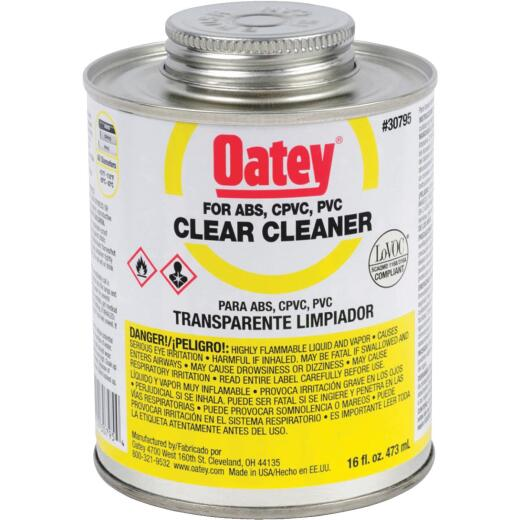Oatey 16 Oz. All-Purpose Clear PVC Cleaner