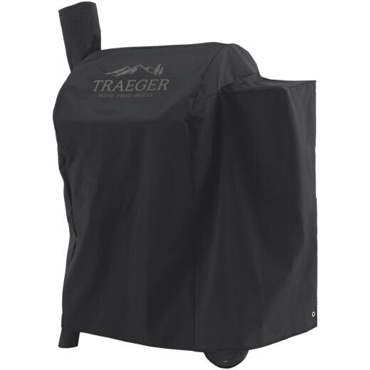 Traeger Pro 575 35 In. Black Polyester Grill Cover